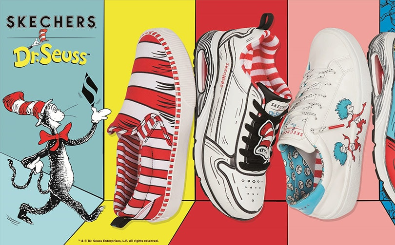 Skechers launches Dr Seuss-inspired footwear collection