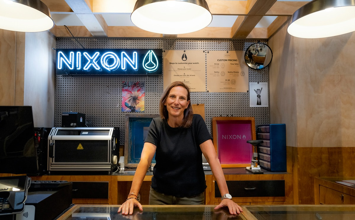 Nixon president Nancy Dynan on the future of the brand