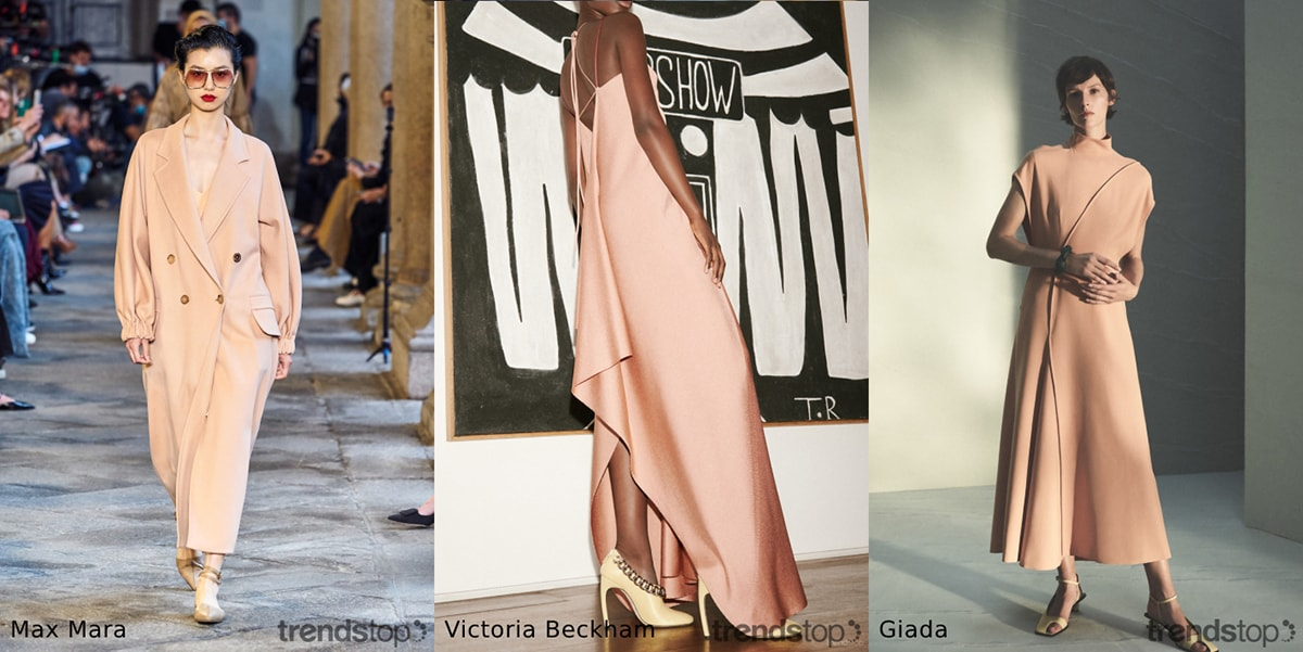 Womenswear colour trends on the SS21 runways