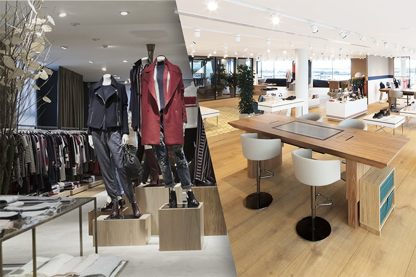 A hybrid solution: Integration of virtual and physical showrooms