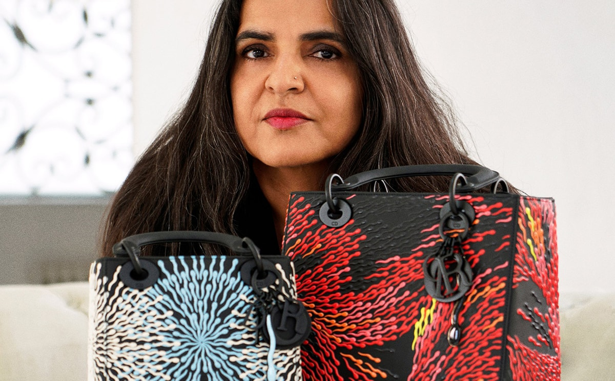 Video: Artist Bharti Kher shares her take on the 'Lady Dior' bag