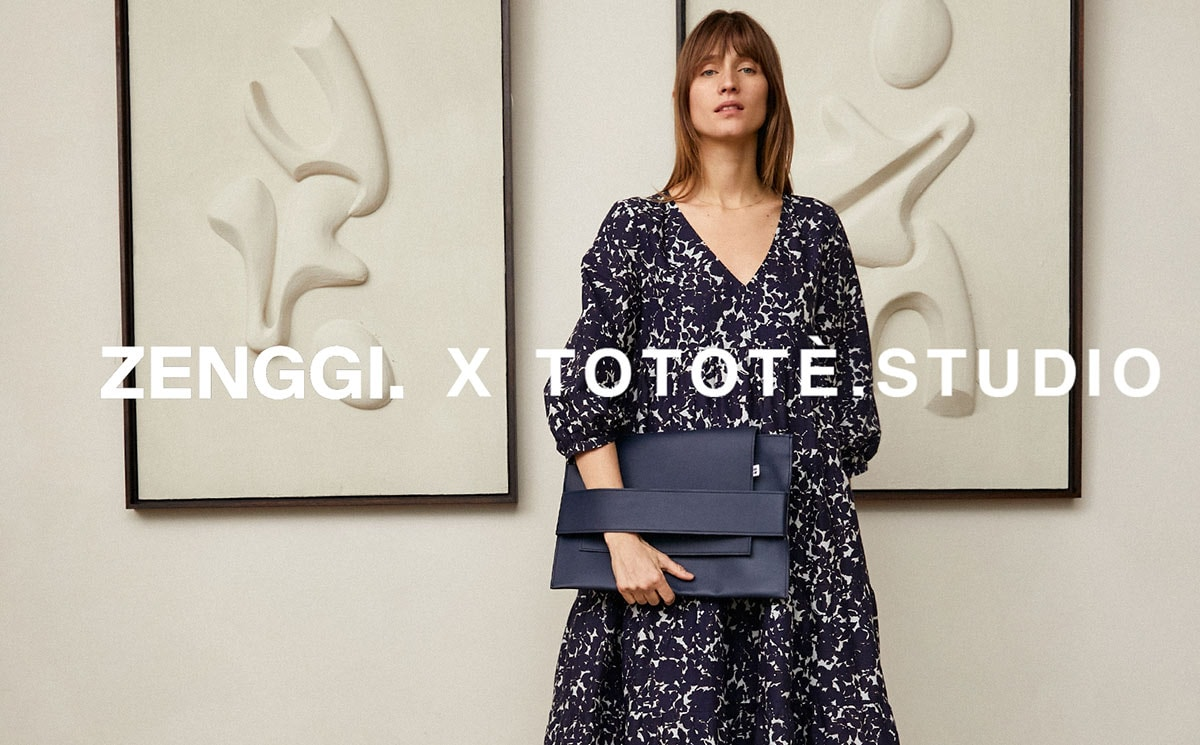 ZENGGI x Tototè.Studio launching co-designed upcycled and ethically produced laptop sleeve collection
