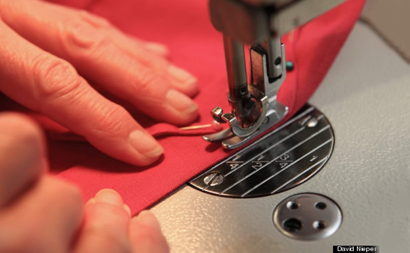 David Nieper launches sewing school