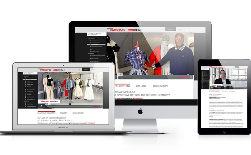 Teen Vogue and Parsons team up for online fashion course