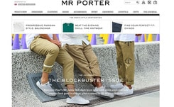 Mr Porter tops 'most social engaged' list