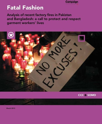 """Fatal Fashion"" analyses fires in garment factories"
