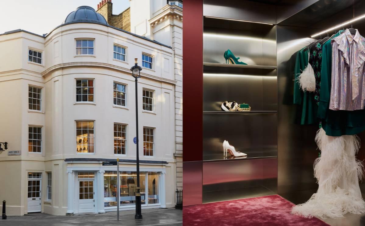 In Bildern: Browns eröffnet neuen Londoner Mayfair Flagshipstore