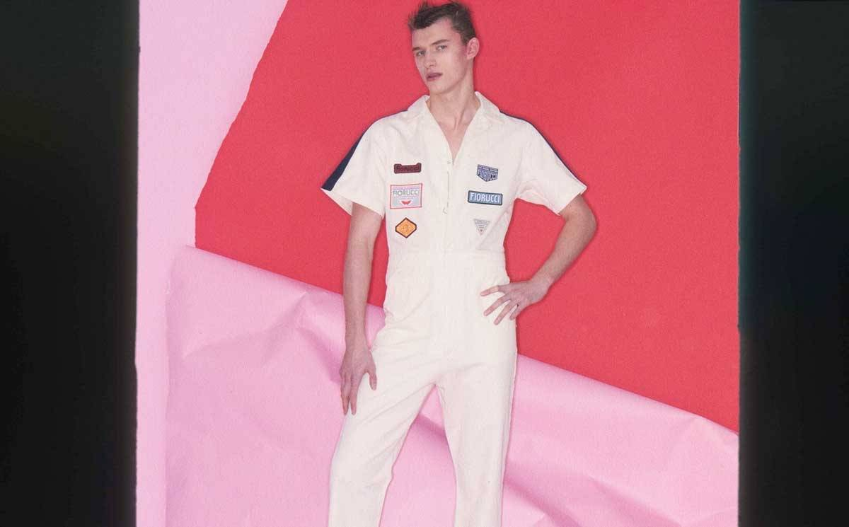 First Look: Daniel Fletcher's debut for Fiorucci
