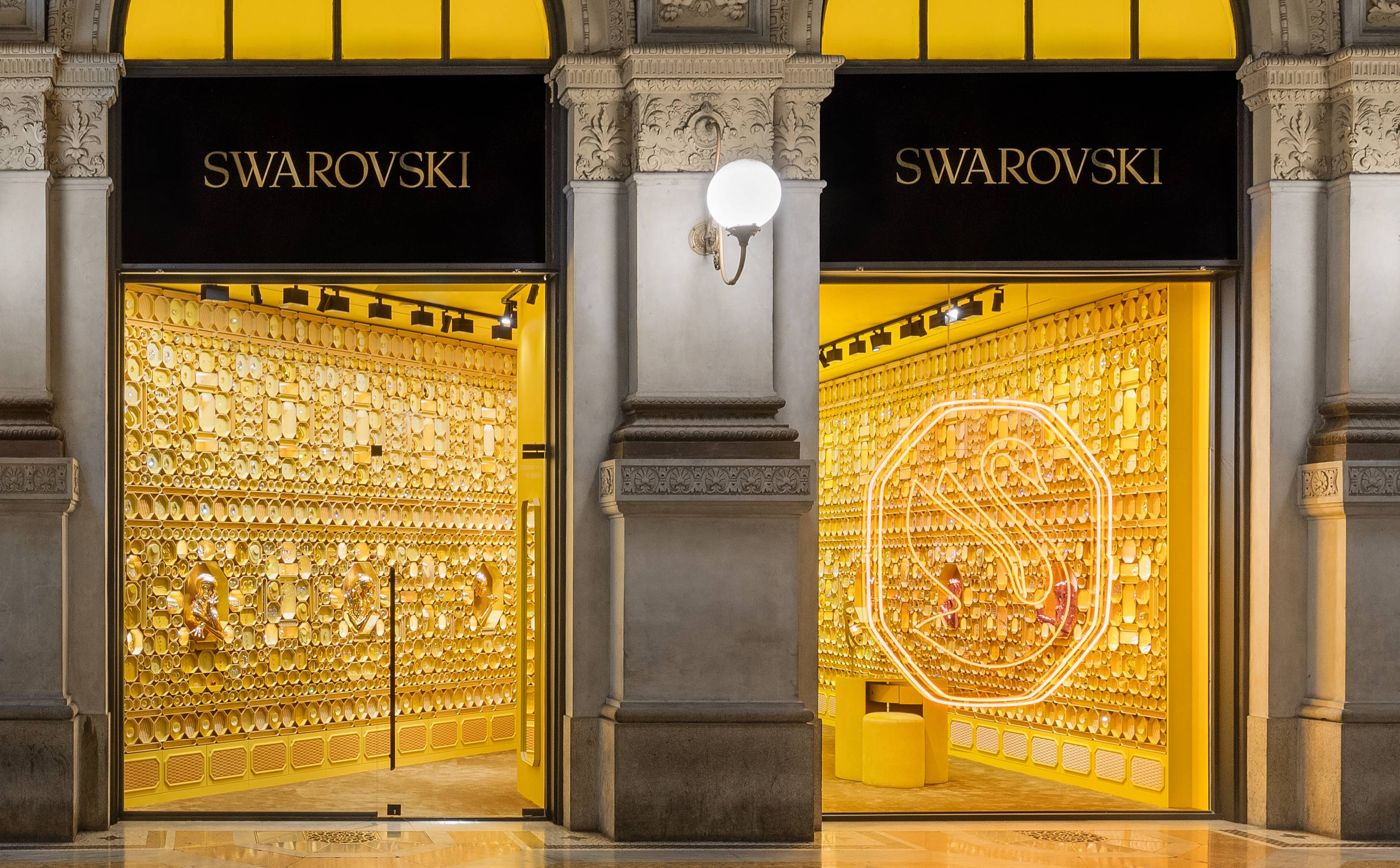 Swarovski reveals new brand identity and store redesign