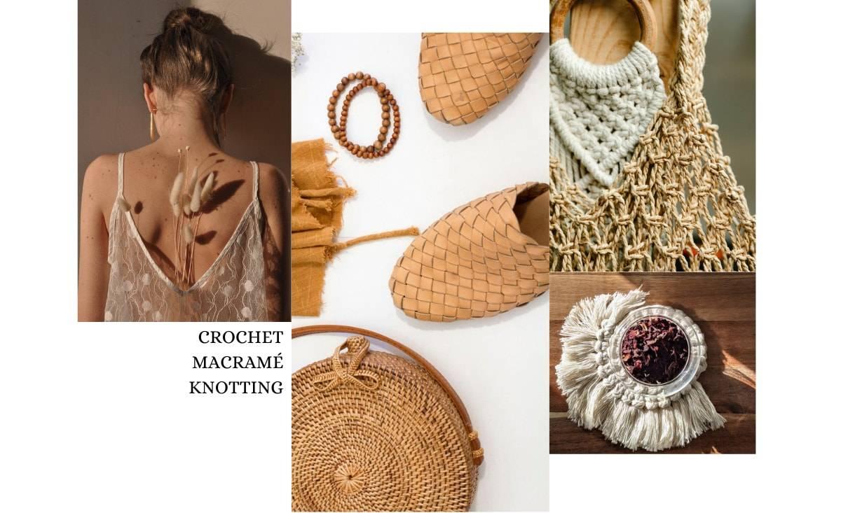 Anatomy of a trend by Christine Boland: crochet, knotting & macramé