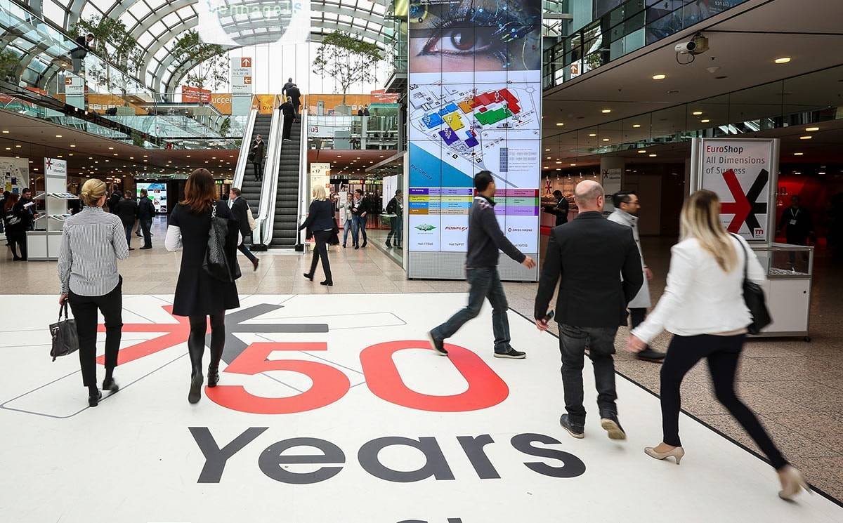 The 20th EuroShop in 2020: Future-oriented and dynamic as the retail industry itself