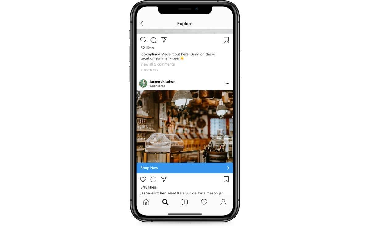 Instagram will start putting ads within the Explore page