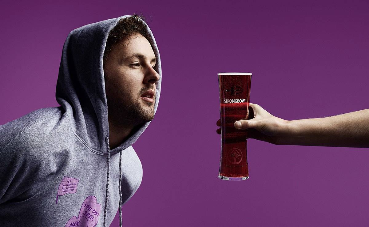 Strongbow Dark Fruit launches a fashion collection