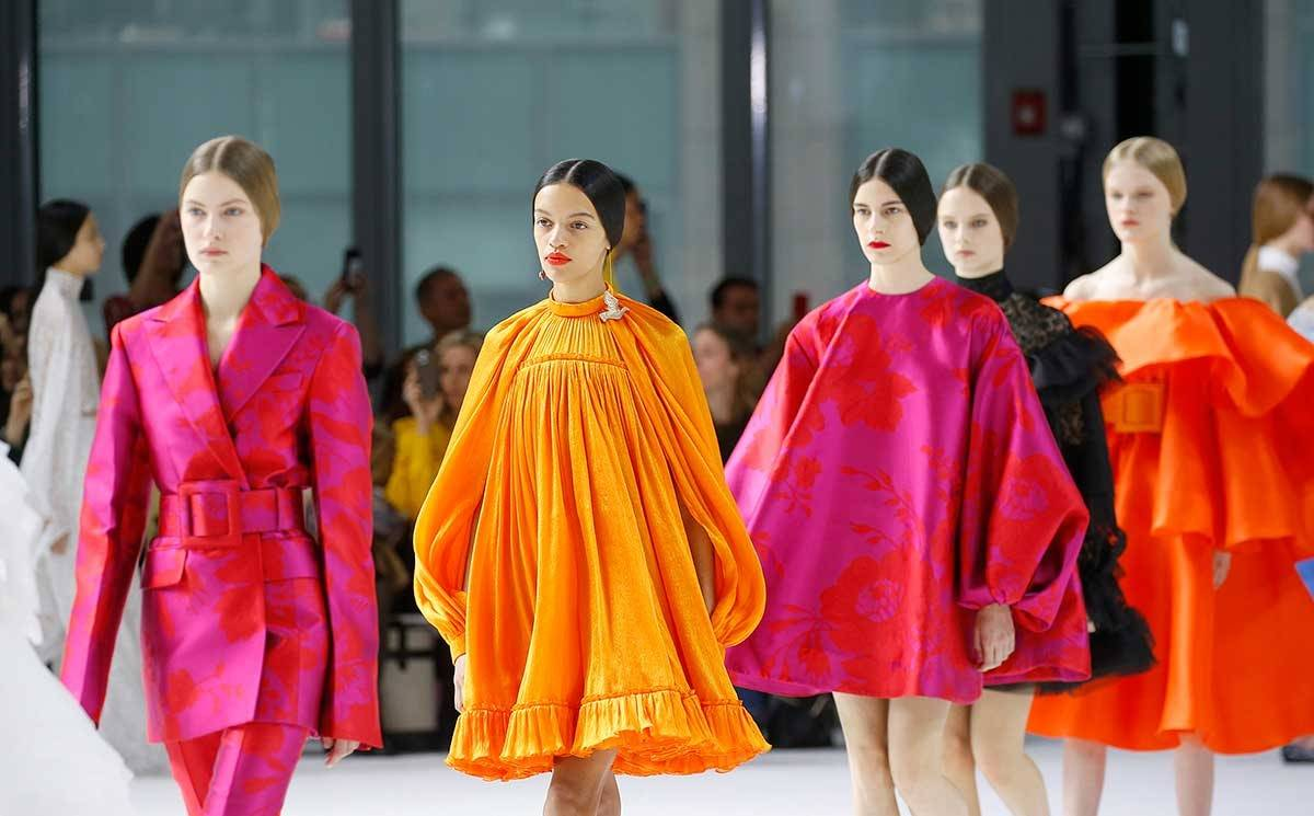 Carolina Herrera brings color back to New York in FW20 show