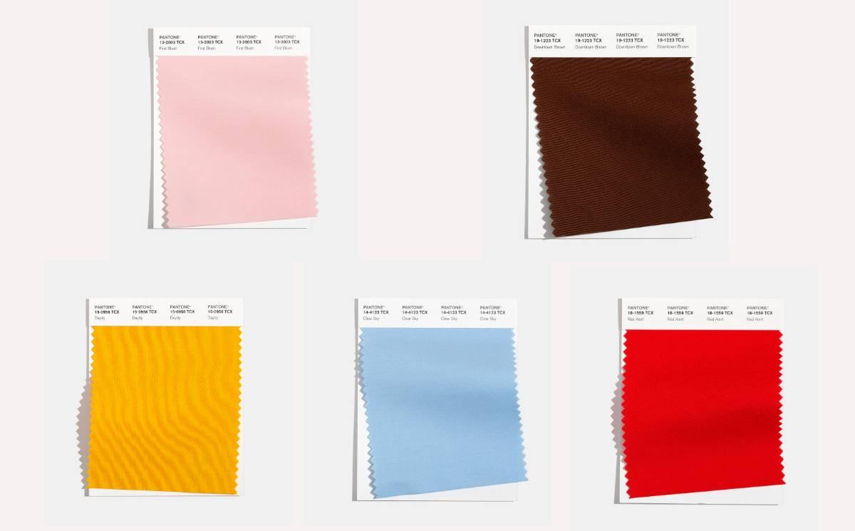 Pantone releases London Fashion Week AW21 colours