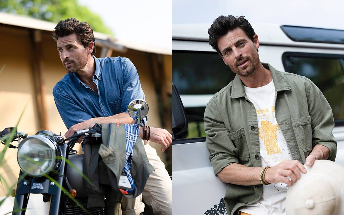 Fynch-Hatton SS22: Premium casual menswear for every day