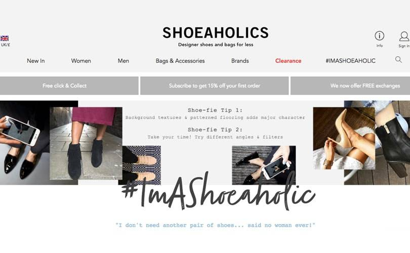 Shoeaholics uses shoppable social content to attract new customers