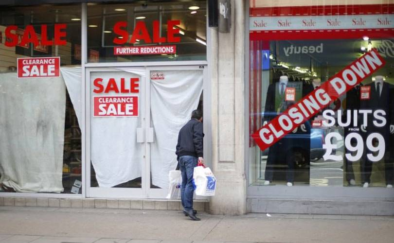 High street stores closed at a faster rate in 2014