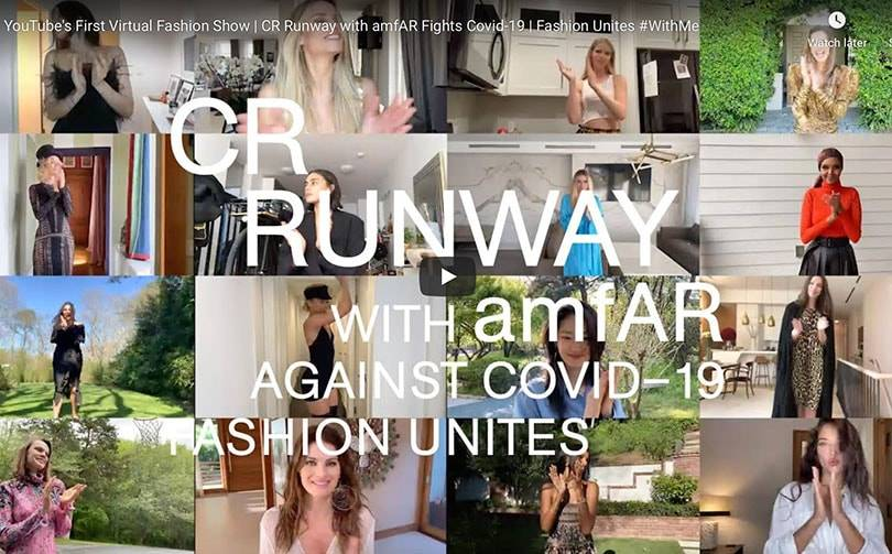 YouTube hosts first virtual runway show