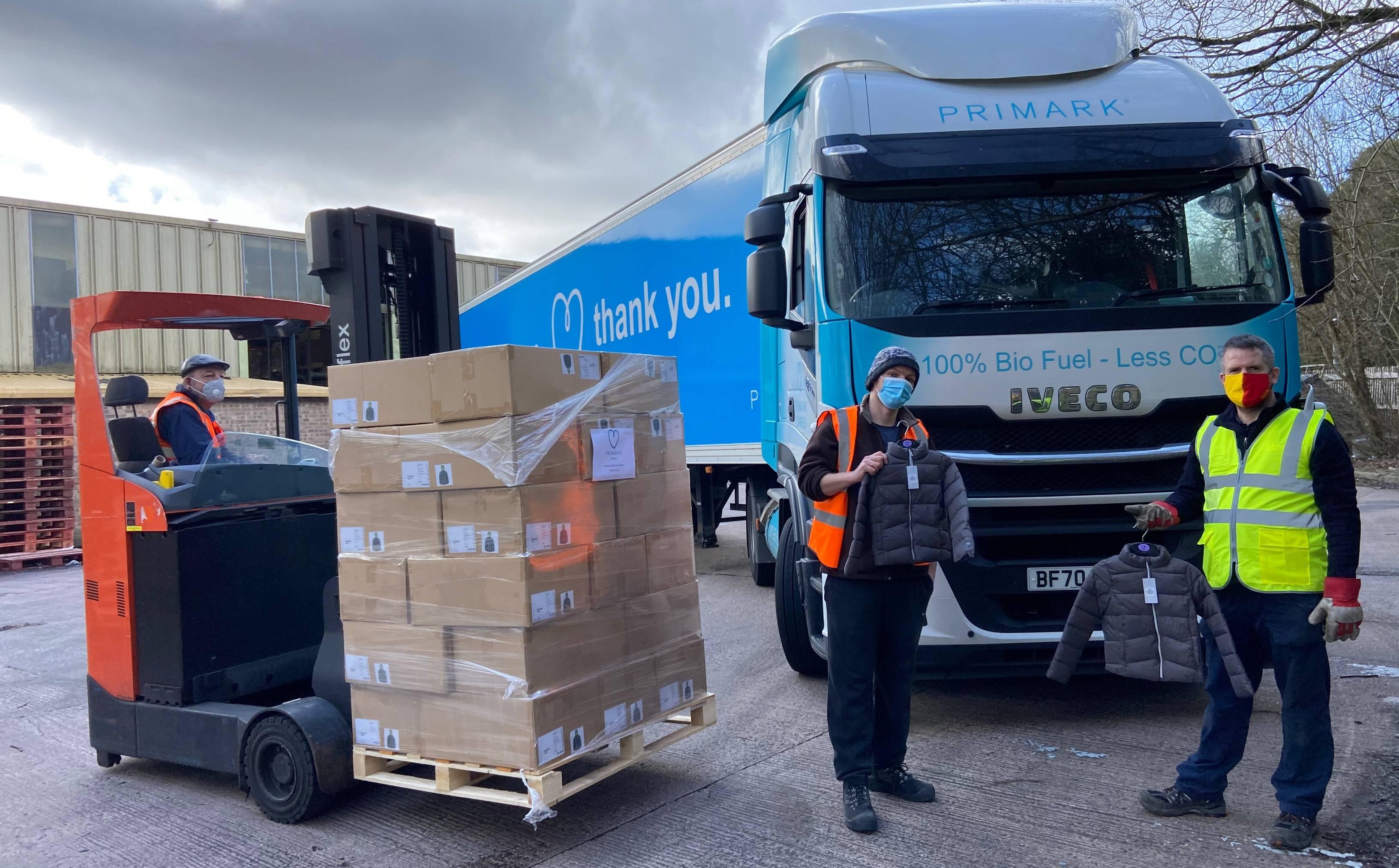Primark donates over 20,000 coats to children in need