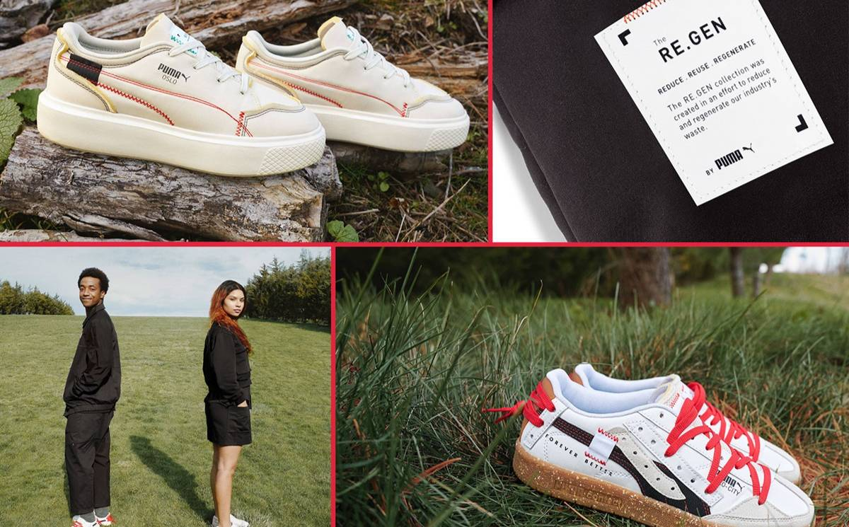 Puma releases collection made from textile industry waste