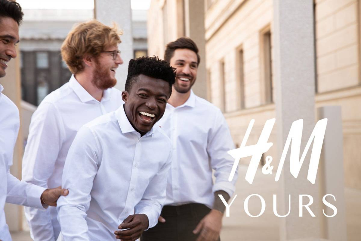 "H&M starts selling ""tailor-made"" shirts through H&M Lab platform"