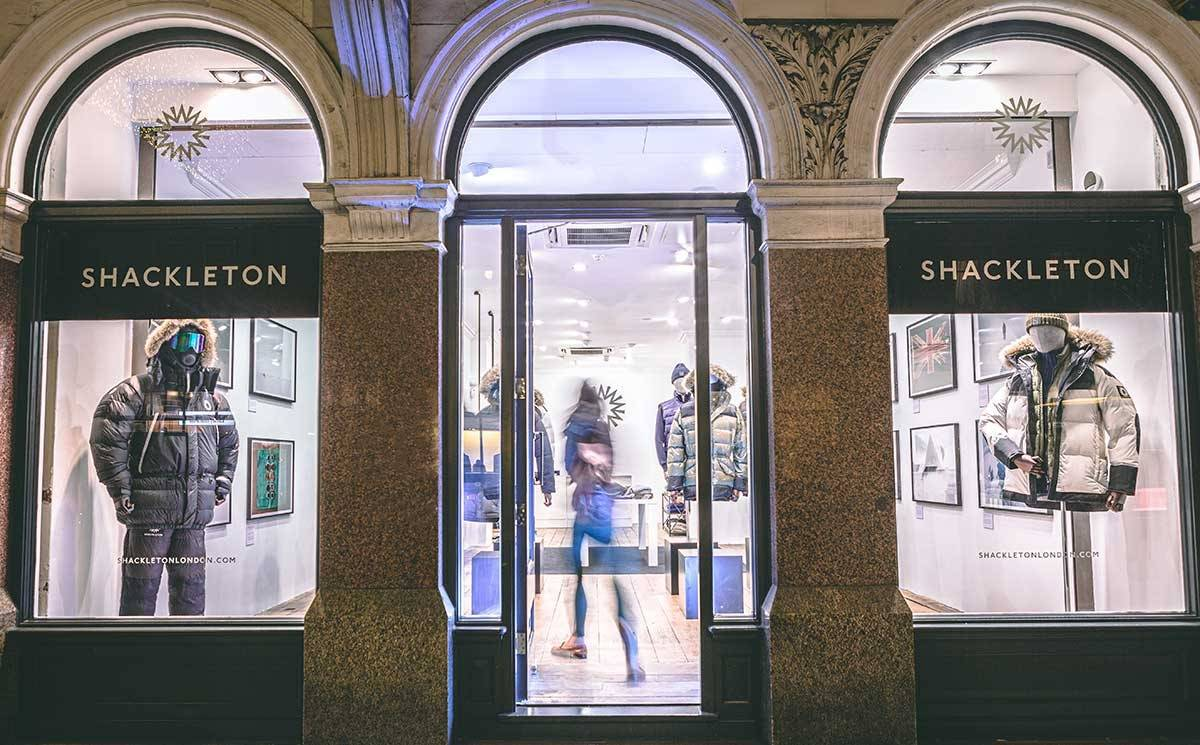Shackleton opens first pop-up in London