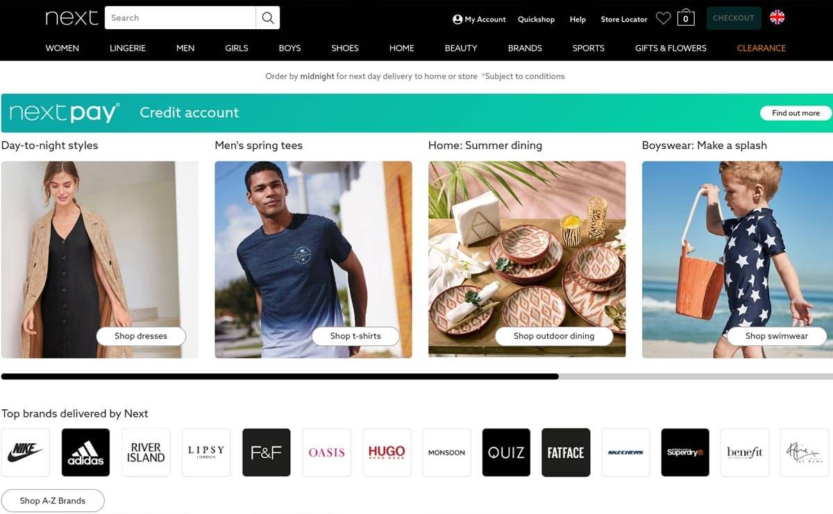 Exclusive: Next is the most-visited apparel website in the UK