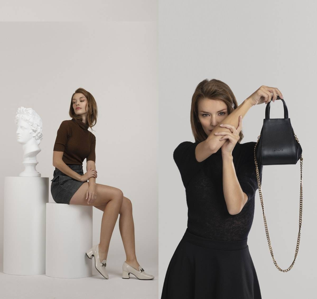 Presenting the Unisa FW21/22 collection: versatile footwear and soft bags