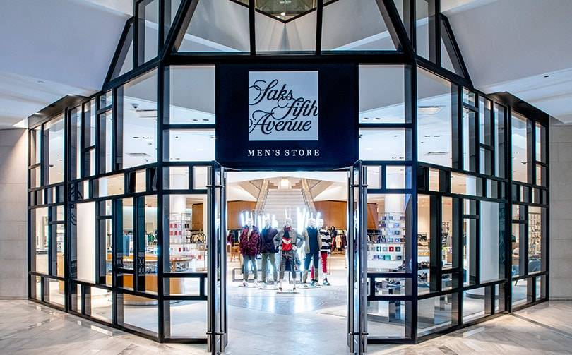 Saks Fifth Avenue opens a dedicated men's store in Boston