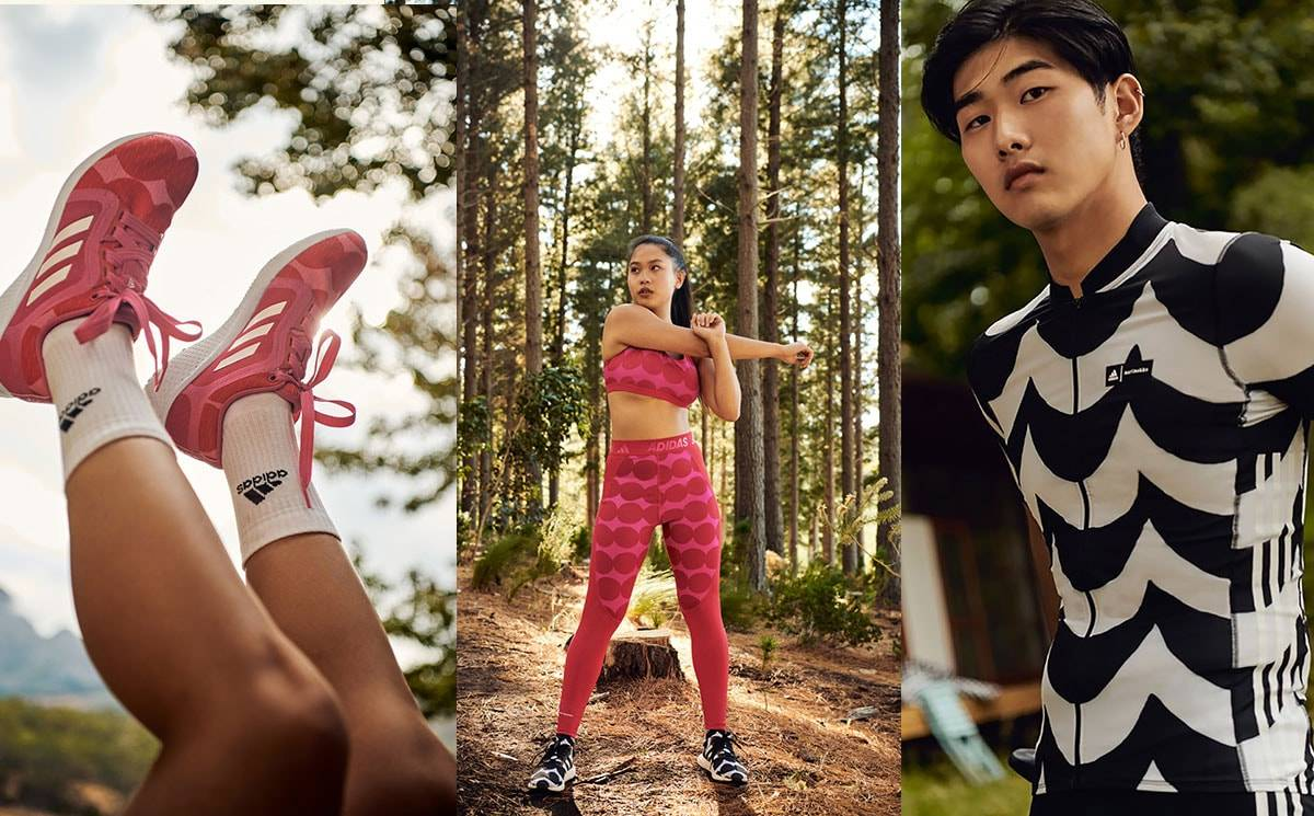 Marimekko and Adidas collaborate to launch sportswear collection
